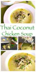 An easy to make recipe, authentic and delicious made with coconut milk. A Thai classic that's ready to eat in 30 minutes! Easy Tom Kha Gai (Thai Coconut Chicken Soup)