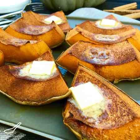 Cinnamon Roasted Pumpkin (тыква запеченная с корицей)