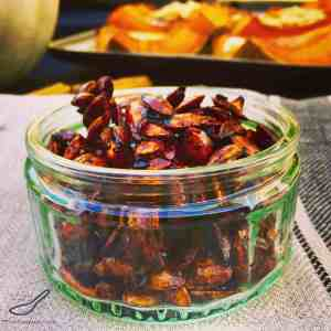 Sweet Chili Roasted Pumpkin Seeds