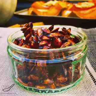 Sweet Chili Roasted Pumpkin Seeds Recipe