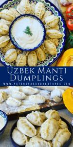 Uzbek Manti Dumplings