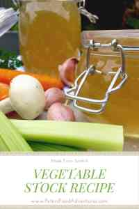 A healthier way to eat soup, full of flavour, you won't even realize it's a vegetarian stock. It's actually easier to make than regular soup broth! Vegetable Stock Recipe