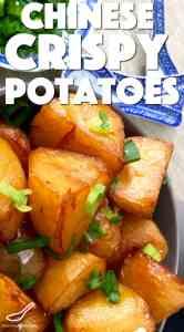Chinese Crispy Roast Potatoes