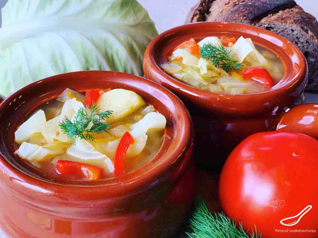 Vegetarian Cabbage Soup