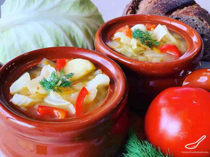 Vegetarian Cabbage Soup