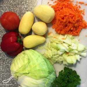 Vegetarian Shchi Soup (Щи постные)
