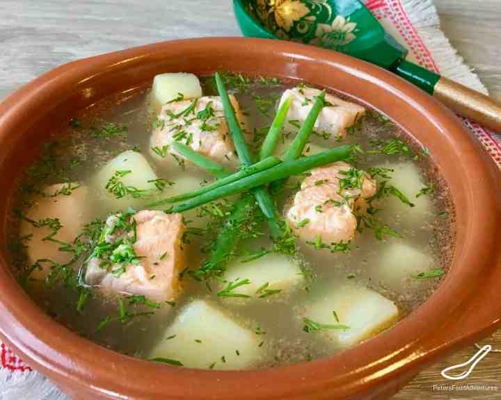 Ukha Fish Head Soup (Уха)