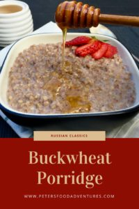 Buckwheat Porridge is a Russian and Eastern European Breakfast Kasha. Incredibly Healthy, Low GI, and Gluten Free Superfood! Grechka Buckwheat Porridge with Milk (Гречневая каша)