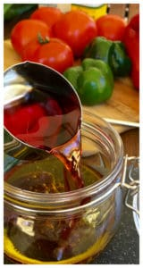 Super Easy Greek Salad Dressing Vinaigrette with Oregano. Perfect with you summer bbq or potluck! Traditional Greek Salad with Easy Dressing Recipe