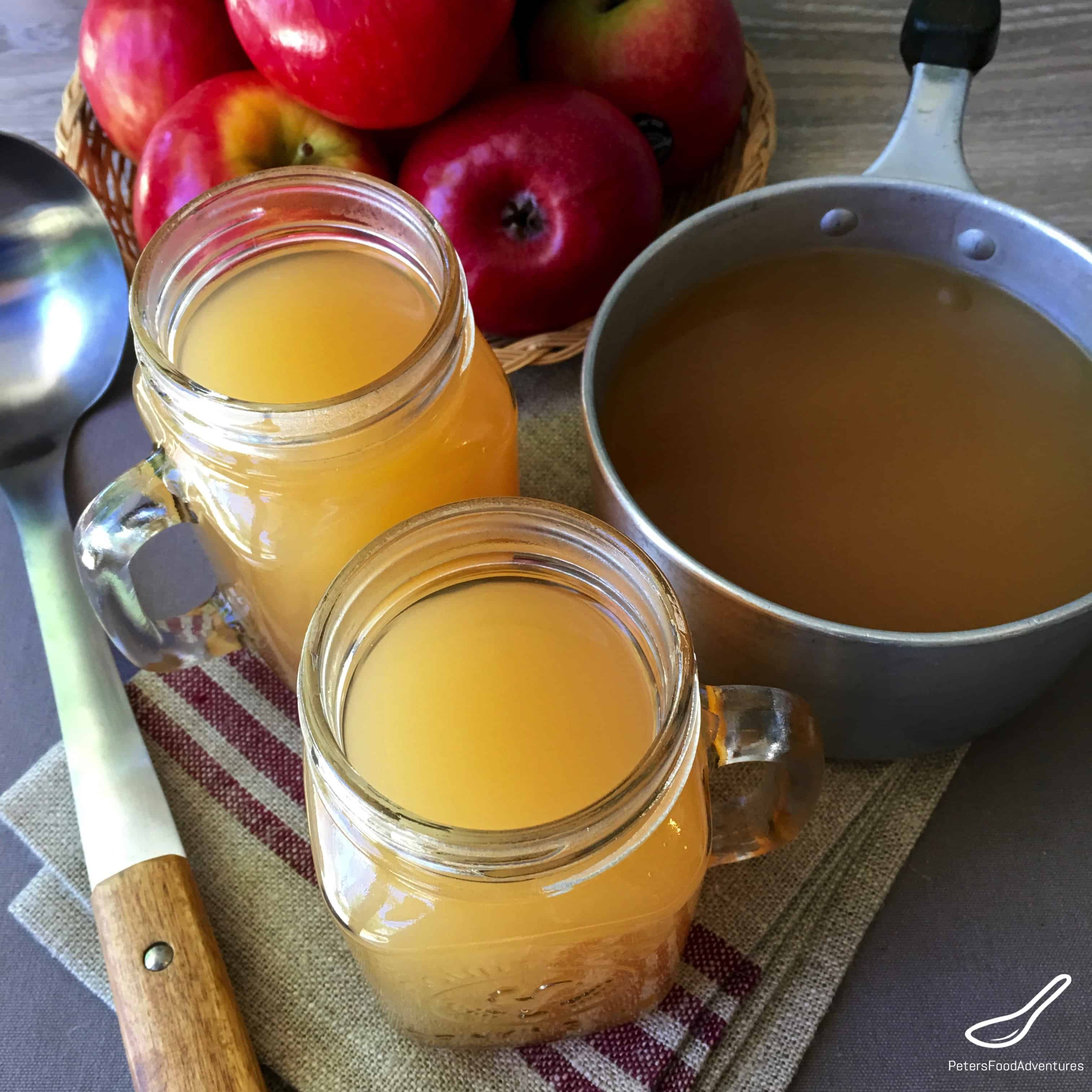 Spiced Apple Cider Alcoholic Drink