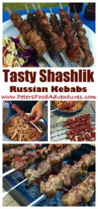 Homemade Lamb or Beef Shish Kebab Skewers Marinated and Cooked Over a Charcoal Grill, like Souvlaki - Russian Shashlik Recipe (Шашлык)