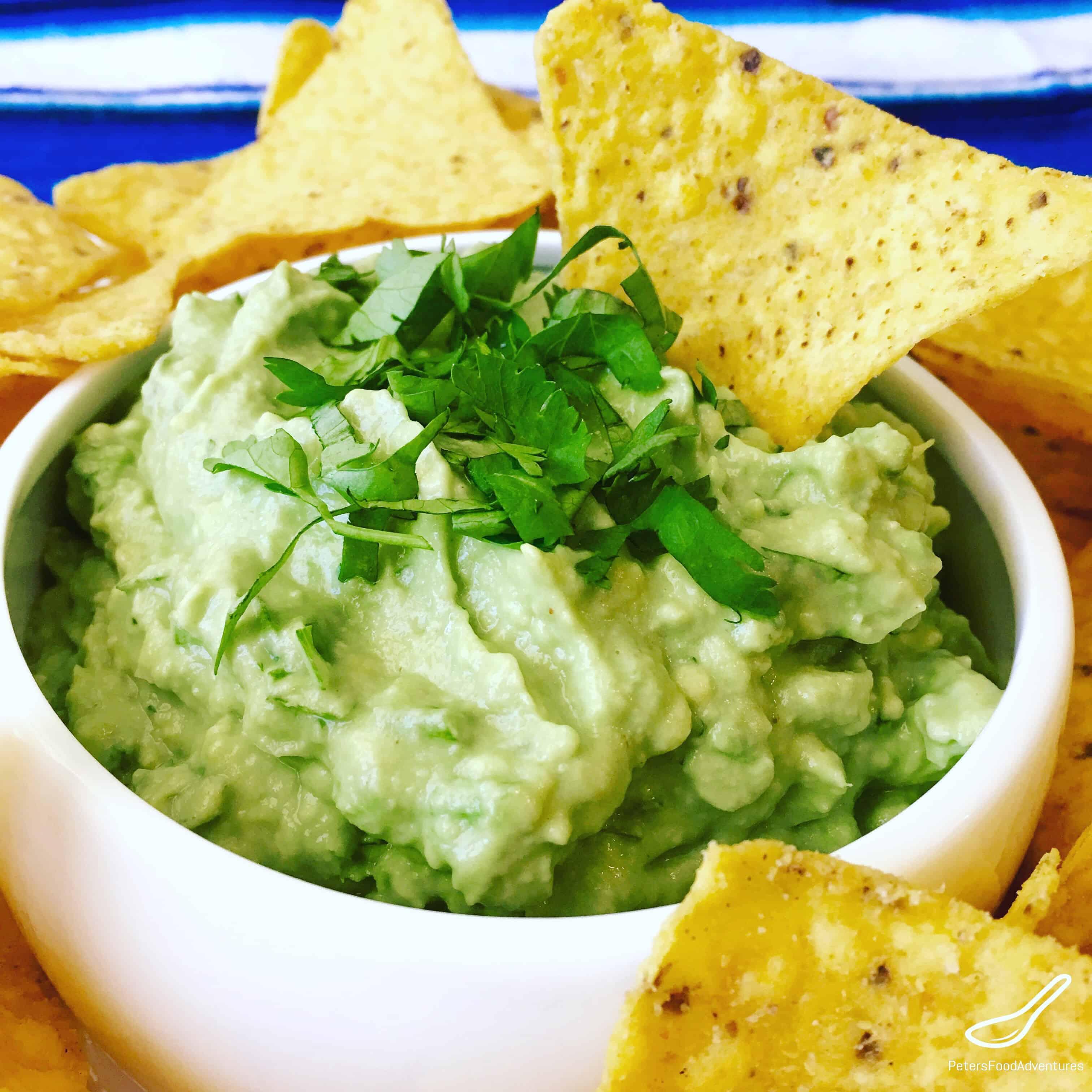 Easy guacamole recipe lime juice | Food fox recipes