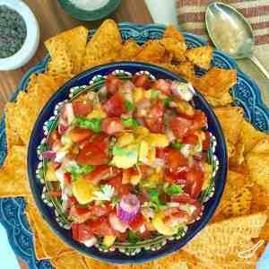 Mango Tomato Salsa Recipe