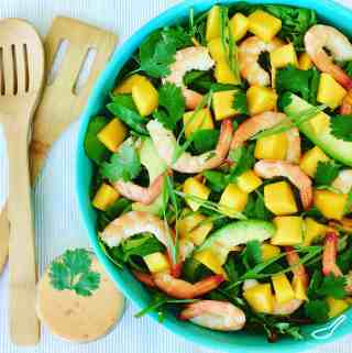 Shrimp Mango Avocado Salad Recipe