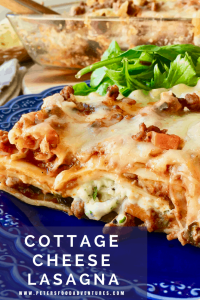 A classic Lasagne dinner favorite, with loads of mozzarella cheese, Ragu, cottage cheese and parmesan. Spinach Free Canadian Lasagna with Cottage Cheese