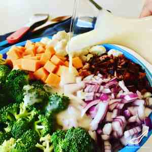 Creamy Broccoli Salad Recipe