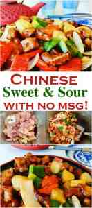 A yummy Chinese American favorite, tastes just like take out! An easy batter recipe for crispy chicken chunks. A simple sauce recipe made with ketchup and pineapple juice, perfect as a dipping sauce. Crispy Pineapple Sweet and Sour Chicken