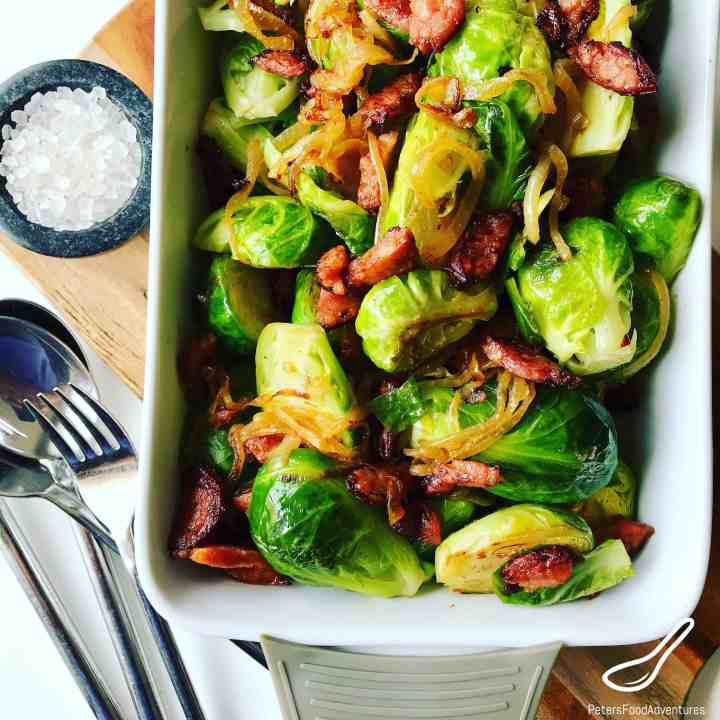 Sauteed Brussel Sprouts Peter S Food Adventures