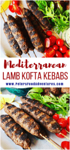 A delicious grilled Greek Mediterranean classic with ground lamb, cumin ,coriander, sumac served with pita bread and Tzatziki sauce -Easy Lamb Kofta Recipe