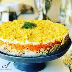 Mimosa Salad (СалатМимоза)