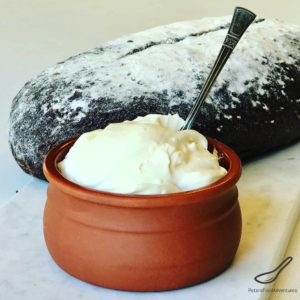 Easy to make, authentic, no thickeners, and full of probiotics. These are some of the reasons to make your own Russian Homemade Sour Cream or Smetana (Сметана). How to make sour cream.
