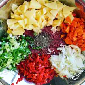 Pirog filling ingredients