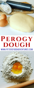 The perfect dumpling dough recipe for to make Pierogi dough, Vareniki dough, Pelmeni dough, Pirohy or Derelye dough. A simple classic dough recipe.