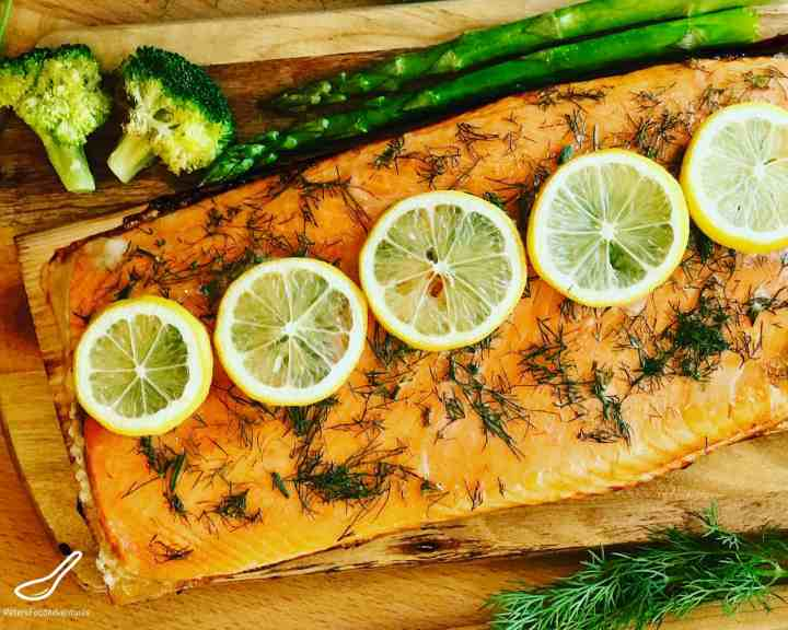 Grilled Fillet Trout Recipe