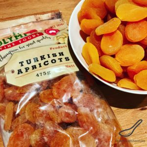 Dried Apricots for Piroshki