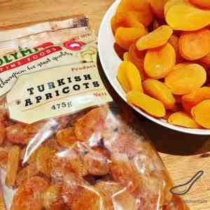Dried Apricots for Piroshki