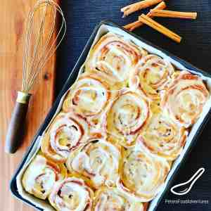 Easy Cinnamon Rolls (with Frosting)