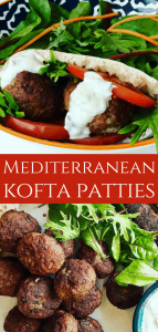 Lamb Patties in Pita Bread with salad is delicious summer meal. It's like a small lamb burger, lamb meatball or lamb rissoles, perfect lamb pita pocket for lunch or as an appetizer! If you don't like lamb, you can swap with beef.
