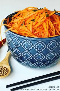 Russian Carrot Salad recipe (Морковь по-корейски)