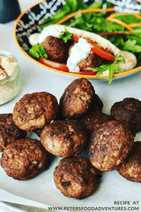 Kofta Lamb Patties