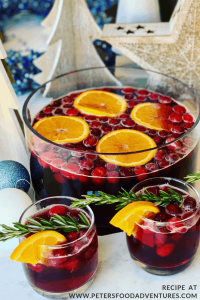 Cranberry Christmas Punch
