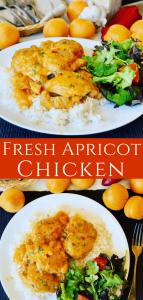 Fresh Apricot Chicken