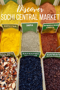Sochi Central Market Spices