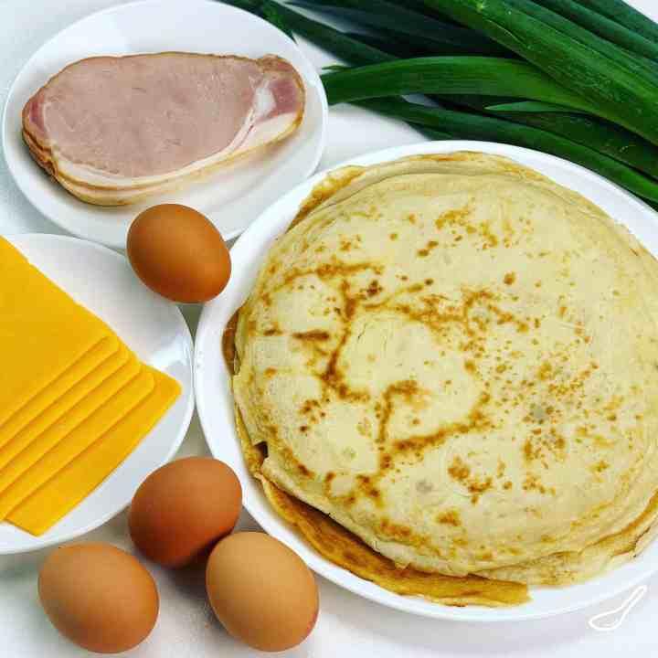 Breakfast Crepes ingredients