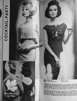 Neuer Schnitt, 60er, Vintage Kleid