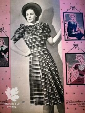 Pramo, Praktische Mode 40er Vintage Kleid