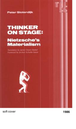 Thinker on stage - Peter Sloterdijk