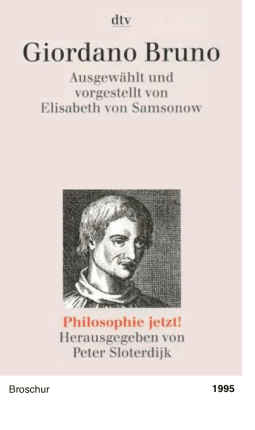 Philosophie jetzt!: Giordano Bruno