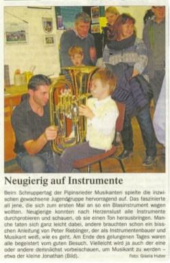 Pipinsrieder Musikanten Schnuppertag_2