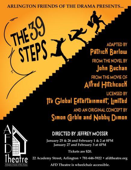 39 Steps Poster