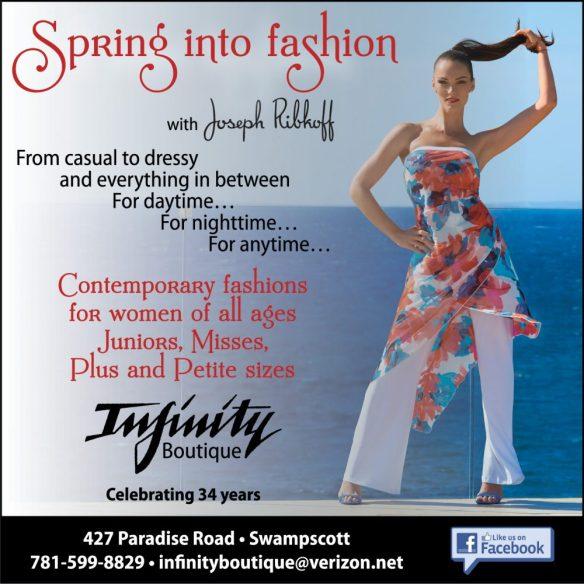 Infinity Spring into Fashion