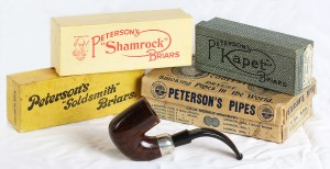 175. Patent and Irish Free State-Era Pipe Boxes Made by P. O'Reilly of Dublin