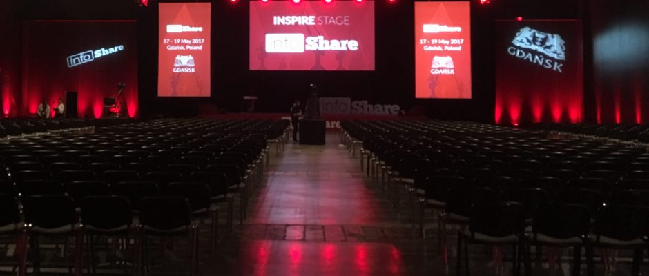 infoShare 2017 Inspire Stage
