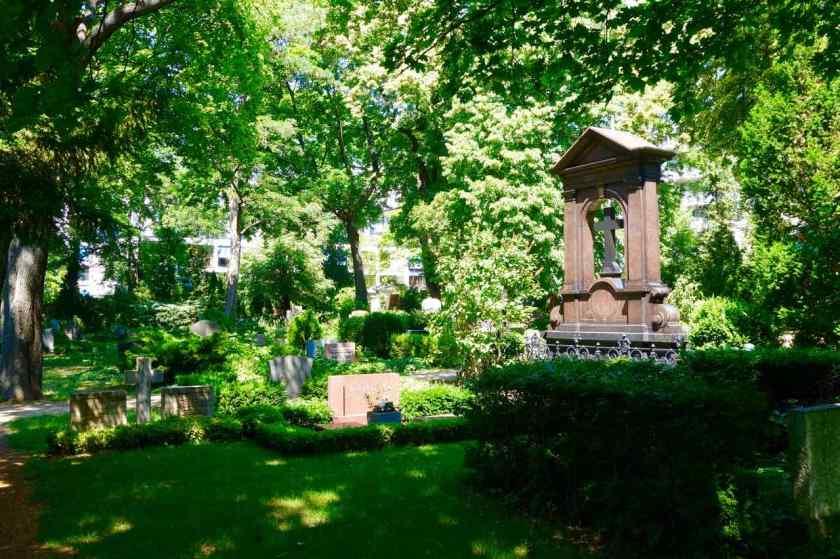 Dorotheenstädtischer Friedhof in Berlin, Titelbild