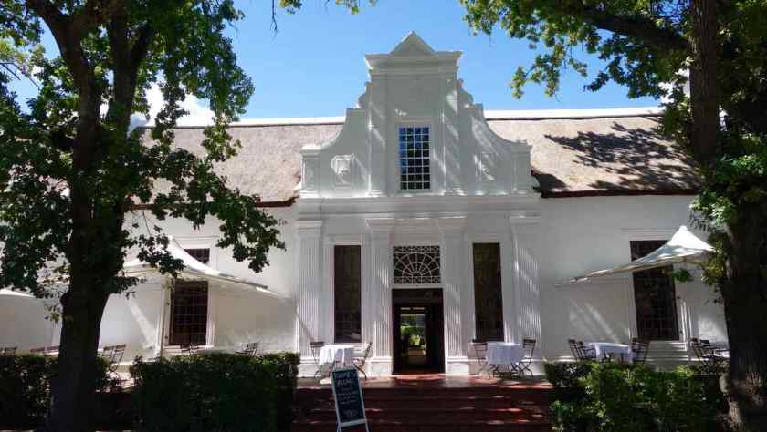 Stellenbosch, The Big Easy Restaurant