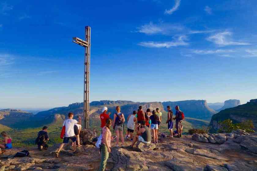 Lencois Chapada Diamantina - Highlights, Auf dem Plateau des Morro do Pai Inacio